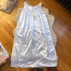 Vintage Christian Dior White Night Gown Dress